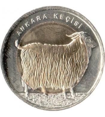 Турция 2015 1 лира Коза