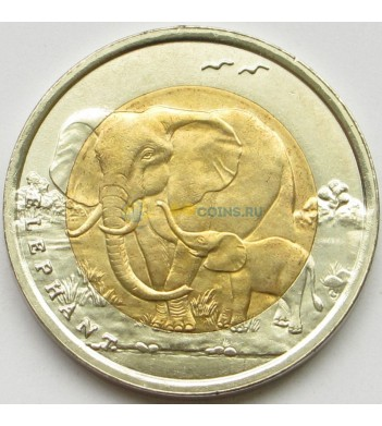 Турция 2009 1 лира Слон