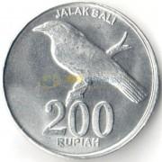 Индонезия 2003 200 рупий Балийский скворец