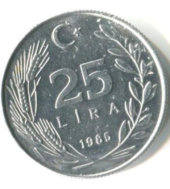 Турция 1985-1989 25 лир