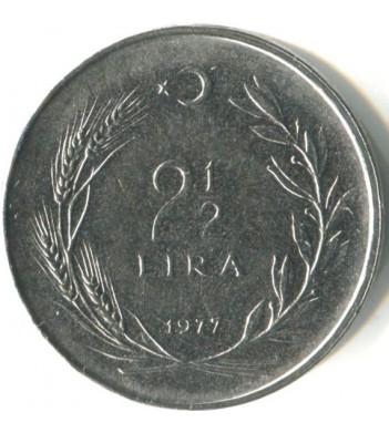 Турция 1969-1980 2 1/2 лиры