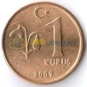 Турция 2009 1 куруш