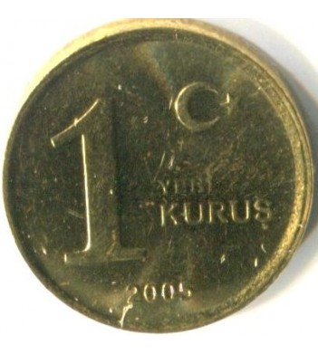 Турция 2005-2008 1 куруш