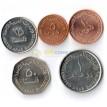 ОАЭ 1998-2012 набор 5 монет