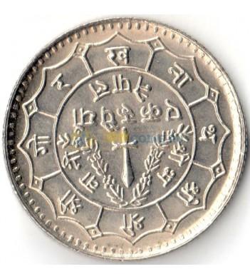 Непал 1977 1 рупия