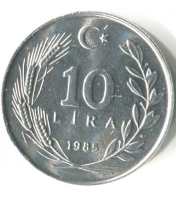 Турция 1984-1989 10 лир