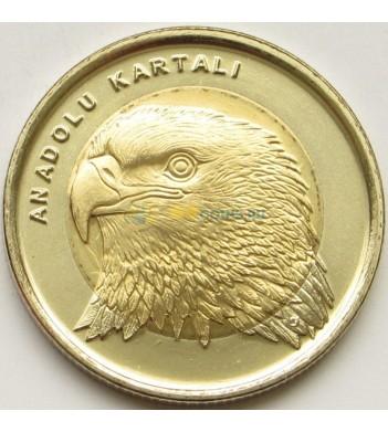 Турция 2014 1 лира Орел