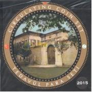 Турция Годовой набор монет 2015 с серебряным жетоном