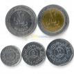 Йемен 1993-2006 набор 5 монет
