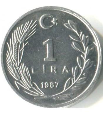 Турция 1985-1989 1 лира