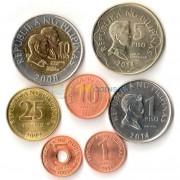 Филиппины 1993-2014 набор 7 монет