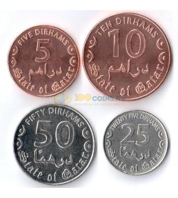 Катар 2016 набор 4 монеты
