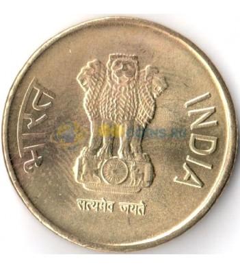 Индия 2016 5 рупий