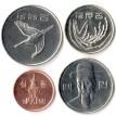 Южная Корея 2015-2019 Набор 4 монеты