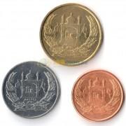 Афганистан 2004 набор 3 монеты