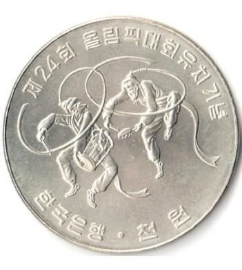Южная Корея 1982 1000 вон Олимпийские Игры в Сеуле