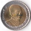 Таиланд 2004 10 бат 200 лет Король Рама IV