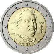Италия 2012 2 евро Джованни Пасколи