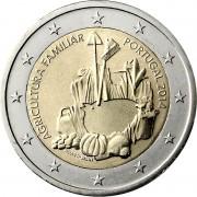 Португалия 2014 2 евро Год фермерского хозяйства