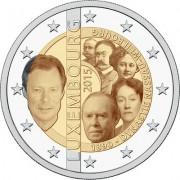 Люксембург 2015 2 евро 125 лет династии Нассау-Вейльбург