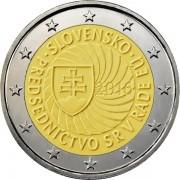 Словакия 2016 2 евро Председательство в Совете ЕС