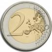 Словения 2014 2 евро 600 лет коронации Барбары Цилли