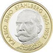 Финляндия 2016 5 евро Каарло Юхо Стольберг