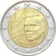 Люксембург 2007 2 евро Дворец Великих герцогов