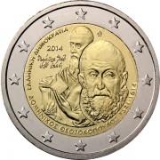 Греция 2014 2 евро Доменикос Теотокопулос (Эль Греко)
