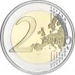 Финляндия 2016 2 евро 90 лет со дня смерти Эйно Лейно