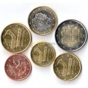 Андорра Набор 6 монет евро 2014 (5-50 центов, 1-2 евро)