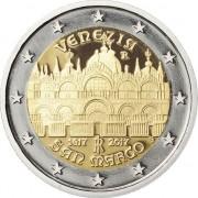 Италия 2017 2 евро Собор Святого Марка в Венеции
