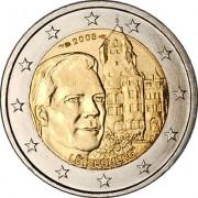 Люксембург 2008 2 евро Замок Берг
