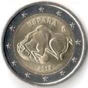Испания 2015 2 евро Пещера Альтамира