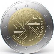 Латвия 2015 2 евро Председательство в Совете ЕС