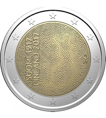 Финляндия 2017 2 евро 100 лет независимости