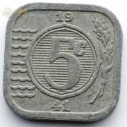 Нидерланды 1942 5 центов (цинк)