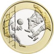 Финляндия 2016 5 евро Футбол