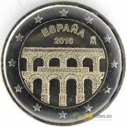 Испания 2016 2 евро Акведук в Сеговии