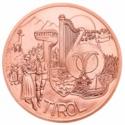 Австрия 2014 10 евро Тироль
