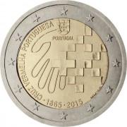 Португалия 2015 2 евро 150 лет Красному кресту