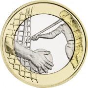Финляндия 2016 5 евро Легкая атлетика