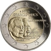 Люксембург 2012 2 евро Вильгельм IV