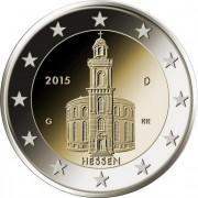 Германия 2015 2 евро Гессен A