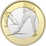 Финляндия 2016 5 евро Лыжный спорт