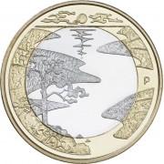 Финляндия 2013 5 евро Северная природа Лето