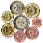 Мальта Набор 8 монет евро (1-50 центов, 1-2 евро)