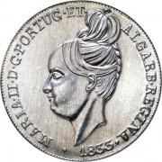 Португалия 2013 5 евро Песа 1833 года королева Марии II