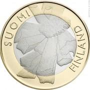 Финляндия 2011 5 евро Остроботния