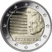 Люксембург 2013 2 евро Национальный гимн